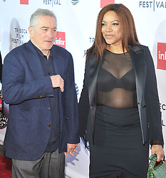 NEW YORK, NY - APRIL 21: Robert De Niro, Grace Hightower  attends the 'Taxi Driver' 40th Anniversary Celebration during the 2016 Tribeca Film Festival at The Beacon Theatre on April 21, 2016 in New York City. ...People:  Robert De Niro, Grace Hightower  (Credit Image: © SMG via ZUMA Wire)