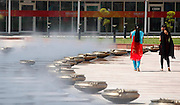 General view of the International Centre, Games Village. General shots of games sites around Delhi. XIX Commonwealth Games, New Delhi, India. Thursday 30 September 2010 September 2010. Photo: Simon Watts / photosport.co.nz