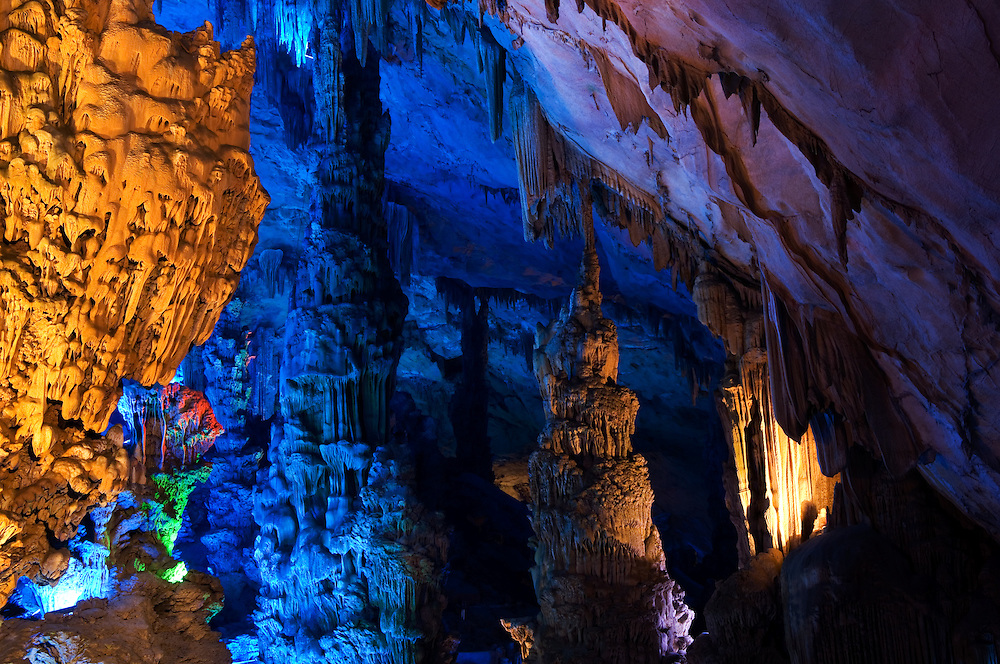 Reed Flute Cave, Guilin, Guanxi, China