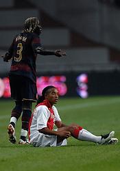04-08-2007 VOETBAL: LG AMSTERDAM TOURNAMENT: AJAX - ARSENAL: AMSTERDAM<br /> Ajax verliest met 1-0 van Arsenal / Bacary Sagna en Urby Emanuelson<br /> &copy;2007-WWW.FOTOHOOGENDOORN.NL
