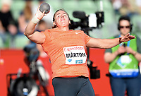 Friidrett ,  11. juni 2015 , Diamond League , Bislett Games , Oslo<br />  Atheltics<br /> kule<br /> Anita Marton , HUN
