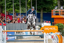 MUFF Werner (SUI), JAZOE VAN 'T STEENPAAL<br /> Münster - Turnier der Sieger 2019<br /> BRINKHOFF'S NO. 1 -  Preis<br /> CSI4* - Int. Jumping competition  (1.50 m) -<br /> 1. Qualifikation Grosse Tour <br /> Large Tour<br /> 02. August 2019<br /> © www.sportfotos-lafrentz.de/Stefan Lafrentz