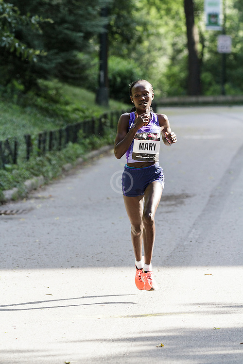 NYRR Oakley Mini 10K for Women: winner 31:15 Mary Keitany, Kenya, adidas