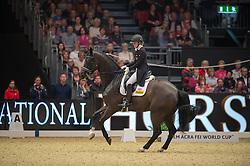 Watson-Greaves Hayley, (GBR), Rubins Nite<br /> Grand Prix Freestyle <br /> Reem Acra FEI World Cup Dressage <br /> London International Horse Show<br /> © Hippo Foto - Jon Stroud