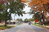 Commercial streets (8th St) in Traverse City, Michigan on October 9, 2018 (Gary L Howe)