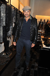 GERRY DEVEAUX at a party hosted by Roberto Cavalli to celebrate his new Boutiques's opening at 22 Sloane Street, London followed by a party at Battersea Power Station, London SW8 on 17th September 2011.