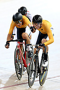 Kiaan Watts Max Williams during the 2019 Vantage Elite and U19 Track Cycling National Championships at the Avantidrome in Cambridge, New Zealand on Sunday, 10 February 2019. ( Mandatory Photo Credit: Dianne Manson )