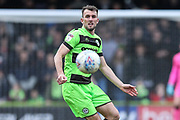 Forest Green Rovers Christian Doidge(9) during the EFL Sky Bet League 2 match between Forest Green Rovers and Lincoln City at the New Lawn, Forest Green, United Kingdom on 2 March 2019.