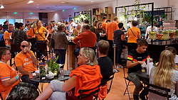 21-09-2019 NED: EC Volleyball 2019 Netherlands - Germany, Apeldoorn<br /> 1/8 final EC Volleyball / Rabo Food Court