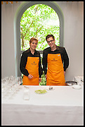 Veuve Clicquot World's Best Female chef champagne tea party. Halkin Hotel. Halkin St. London SW1. 28 April 2014.