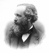 James Clerk Maxwell (1831-1879) Scottish theoretical physicist.  From Campbell & Garnett 'The Life of James Clerk Maxwel', London, 1882