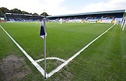 The sun is out before  the Sky Bet League 1 match between Bury and Port Vale at Gigg Lane, Bury, England on 19 September 2015. Photo by Mark Pollitt.