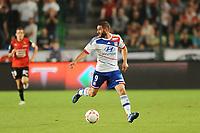 FOOTBALL - FRENCH CHAMPIONSHIP 2012/2013 - L1 - STADE RENNAIS v OLYMPIQUE LYONNAIS - 11/08/2012 - PHOTO PASCAL ALLEE / HOT SPORTS / DPPI - LISANDRO LOPEZ (OL)