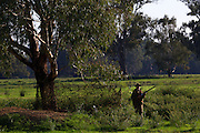 Lionel Swift. Duck hunting season opens near Howlong on the Murray River. Pic By Craig Sillitoe CSZ/The Sunday Age 10/3/2011 This photograph can be used for non commercial uses with attribution. Credit: Craig Sillitoe Photography / http://www.csillitoe.com<br />