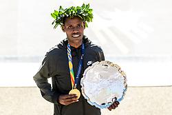 04-11-2018 USA: 2018 TCS NYC Marathon, New York<br /> Race day TCS New York City Marathon / Lelisa Desisa win 2018 TCS New York City Marathon Titles