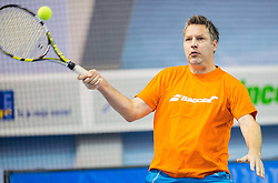 Zoran Kofol at Istenic doubles Tournament and Slovenian Tennis personality of the year 2014 annual awards presented by Slovene Tennis Association TZS , on December 6, 2014 in Millenium Centre, BTC, Ljubljana, Slovenia. Photo by Vid Ponikvar / Sportida
