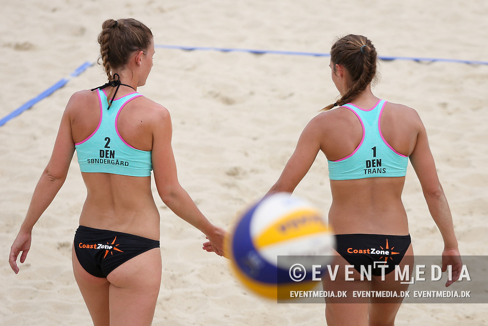 Beachvolley: Kolding Grand Slam on the Danish Beachvolley Tour 2015, 4-5.7.2015 in Kolding, Denmark.