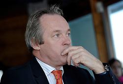 09-12-2006 VOLLEYBAL: CEV OP BEZOEK IN NEDERLAND: ROTTERDAM<br /> De board of Executive Committee CEV waren uitgenodigd door Rotterdam, Rotterdam Topsport en de NeVoBo voor de uitleg van O[peration Restore Confidence / Joop Alberda<br /> ©2006-WWW.FOTOHOOGENDOORN.NL