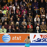 Hannah Miller competes during the championship ladies free skate at the 2014 US Figure Skating Championships at the TD Garden on January 11, 2014 in Boston, Massachusetts.
