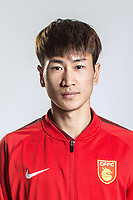 **EXCLUSIVE**Portrait of Chinese soccer player Chen Tang of Hebei China Fortune F.C. for the 2018 Chinese Football Association Super League, in Marbella, Spain, 26 January 2018.