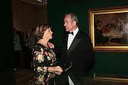 Joan Bakewell and Sandy Nairne, Millais exhibition opening and Dinner. Tate Gallery. 24 September 2007. -DO NOT ARCHIVE-© Copyright Photograph by Dafydd Jones. 248 Clapham Rd. London SW9 0PZ. Tel 0207 820 0771. www.dafjones.com.