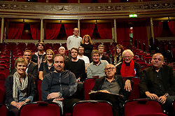 © Copyright licensed to London News Pictures. 18.10/2010. Musicians and composers from the world of film gather for Concert for Care, Royal Albert Hall, London. (not in order: Anne Dudley, Christopher Gunning, Craig Armstrong, Dario Marianelli, David Arnold, George Fenton, Harry Gregson-Williams, John Otman, John Powell, Jonny Greenwood, Michael Nyman, Patrick Doyle, Rachel Portman)