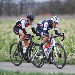 01-03-2020: Wielrennen: Hageland vrouwen: Tielt-Winge: Lucinda Brand