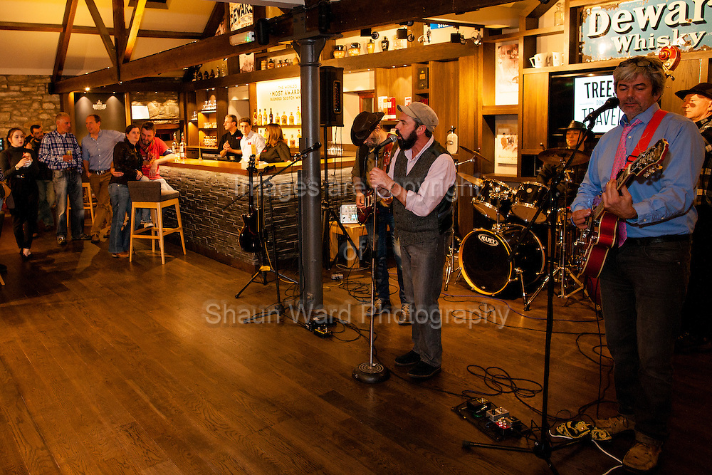 Images from the launch night of the 2014 Aberfeldy Festival held at Dewar's Aberfeldy Distillery.
