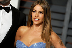 Sofia Vergara in attendance for 2015 Vanity Fair Oscar Party Hosted By Graydon Carter at Wallis Annenberg Center for the Performing Arts on February 22, 2015 in Beverly Hills, California. EXPA Pictures © 2015, PhotoCredit: EXPA/ Photoshot/ Dennis Van Tine<br /> <br /> *****ATTENTION - for AUT, SLO, CRO, SRB, BIH, MAZ only*****
