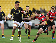 Lions Teariki Ben-Nicholas during the Mitre 10 Cup rugby match between the Wellington Lions & Canterbury at Westpac Stadium, Wellington. Friday 23rd August 2019. Copyright Photo: Grant Down / www.Photosport.nz