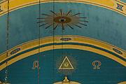 Campanha_MG, Brasil...Detalhe da pintura  na Catedral de Santo Antonio, em Campanha...Detail of the painting in the Cathedral of Santo Antonio, in Campanha...Foto: LEO DRUMOND / NITRO.....