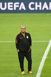 October 2, 2018 - Na - Porto, 10/02/2018 - Training and press conference previewing the match of the second day of the Galatasaray Champions League at Est√°dio do Drag√£o. Fatih Terim  (Credit Image: © Atlantico Press via ZUMA Wire)