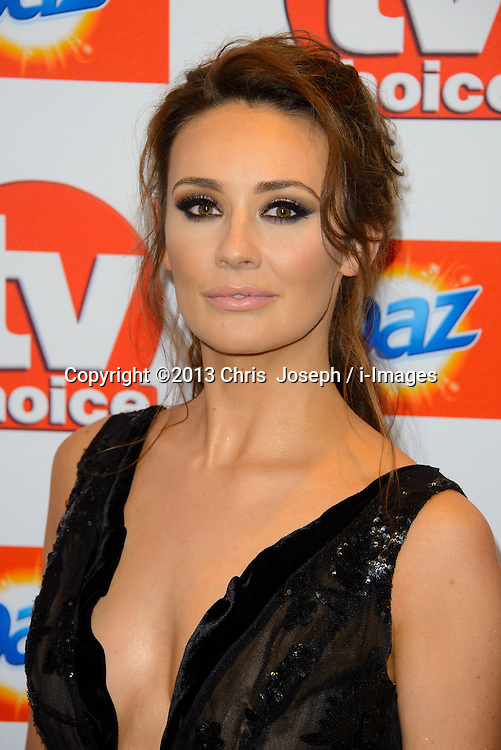 TV Choice Awards 2013 - London.<br /> Claire Cooper arriving at the TV Choice Awards 2013, The Dorchester Hotel, London, United Kingdom. Monday, 9th September 2013. Picture by Chris  Joseph / i-Images