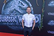 Theater Amsterdam. Nederlandse premiere van Jurassic World Fallen Kingdom. Op de foto: Patrick Martens