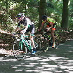03-09-2017: Wielrennen: Boels Ladies Tour: Sittard  <br />Aanval Kasia Niewiadoma en Janneke Ensing