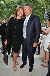 DAVID & BARBARA DEIN at the launch of Hideaways House at Morton's Club, Berkeley Square, London on 25th July 2012.