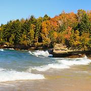 """Wonderful Autumn""<br /> <br /> Wonderful scenic Lake Superior shoreline and fall color!"
