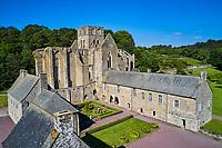 France, Manche (50), Cotentin, Hambye, abbaye de Hambye, abbaye bénédictine fondée au XIIe siècle // France, Normandy, Manche department, Cotentin, Hambye, Hambye abbey, from 12 century