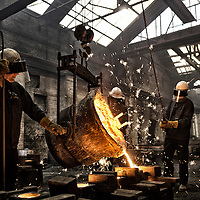 Hargreaves Foundry - Halifax - Yorkshire ( Est : 1896 ) - General Ironfounders . Casting