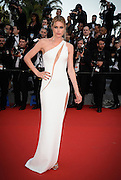 LEILA BEKHTI   - OPENING THE 68th CANNES FILM FESTIVAL - RED CARPET ' HIGH HEAD '<br /> ©Exclusivepix Media