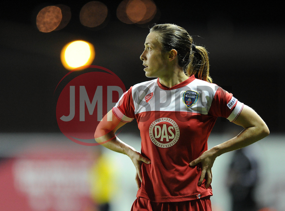 Bristol Academy Womens' Corinne Yorston - Photo mandatory by-line: Dougie Allward/JMP - Mobile: 07966 386802 - 16/10/2014 - SPORT - Football - Bristol - Ashton Gate - Bristol Academy v Raheny United - Women's Champions League