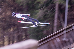 HARALAMBIE Daniela (ROU) during first round on day 2 of  FIS Ski Jumping World Cup Ladies Ljubno 2020, on February 23th, 2020 in Ljubno ob Savinji, Ljubno ob Savinji, Slovenia. Photo by Matic Ritonja / Sportida