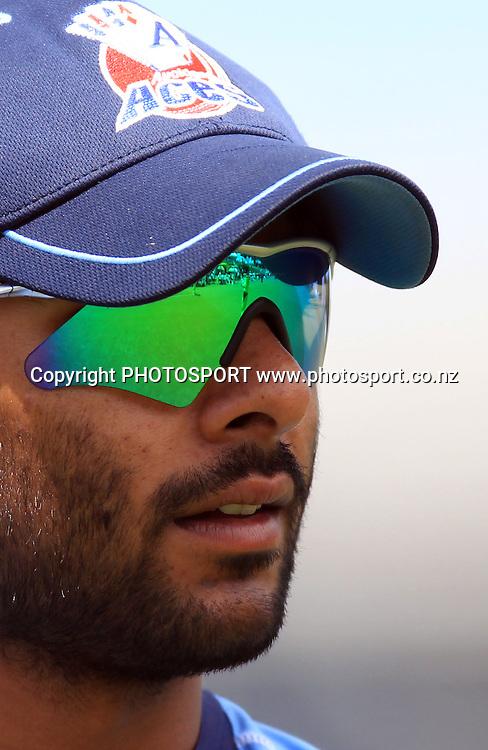Roneel Hira. Twenty20 Cricket, Auckland Aces v Pakistan, Colin Maiden Park, Auckland. Thursday 23 December 2010.Photo: Andrew Cornaga/photosport.co.nz