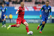 Nottingham Forest midfielder Ben Watson (8) during the EFL Sky Bet Championship match between Wigan Athletic and Nottingham Forest at the DW Stadium, Wigan, England on 20 October 2019.