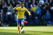 Leeds United midfielder Pablo Hernandez (19)  during the EFL Sky Bet Championship match between Birmingham City and Leeds United at St Andrews, Birmingham, England on 6 April 2019.
