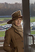 FIONA SHACKLETON, Hennessy Gold Cup, The Racecourse Newbury. 30 November 2013.