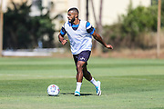 Forest Green Rovers Dan Wishart(17) during the Forest Green Rovers Training session at Browns Sport and Leisure Club, Vilamoura, Portugal on 24 July 2017. Photo by Shane Healey.