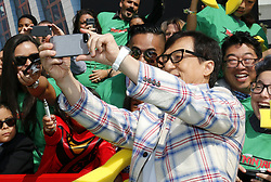 Jackie Chan at the Los Angeles premiere of 'The LEGO Ninjago Movie' held at the Regency Village Theatre in Westwood, USA on September 16, 2017.