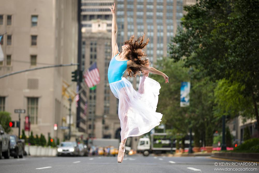Dance As Art The New York City Photography Project Park Avenue with ballerina Erin Aslamai