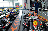 (L-R) Potr Gadomski & Marcin Matkowski & Mariusz Fyrstenberg while GoKarts Racing on F1 Karting Track four days before the BNP Paribas Davis Cup 2014 between Poland and Croatia in Warsaw on March 31, 2014.<br /> <br /> Poland, Warsaw, March 31, 2014<br /> <br /> Picture also available in RAW (NEF) or TIFF format on special request.<br /> <br /> For editorial use only. Any commercial or promotional use requires permission.<br /> <br /> Mandatory credit:<br /> Photo by © Adam Nurkiewicz / Mediasport